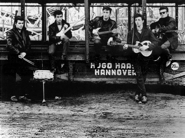 Beatles johnny and the moondogs