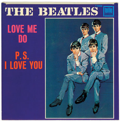 Beatles love me do