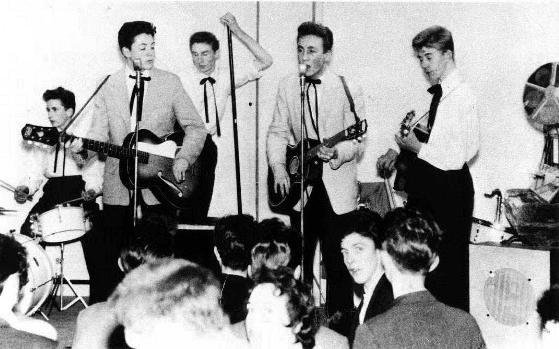 Beatles quarrymen
