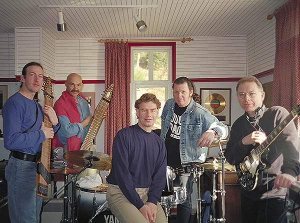 Bill bruford king crimson 95