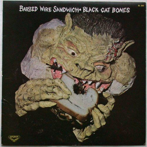 Black cat bones barbed wire snadwich