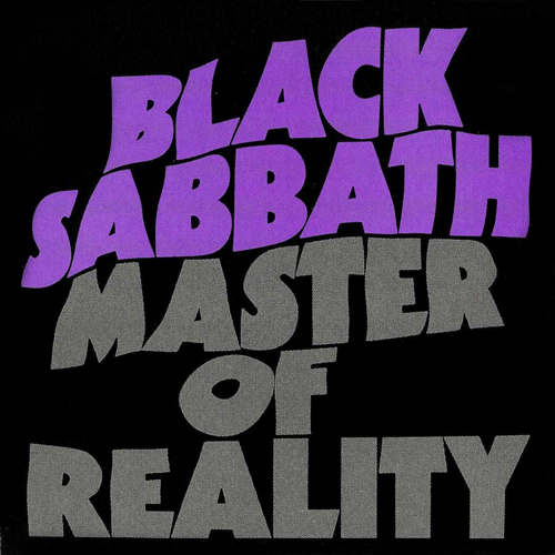 Black sabbath master of reality 1971