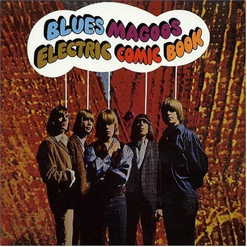 Blues maggos electric comic book