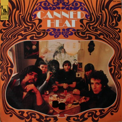 Canned heat lp 1er pochette f a