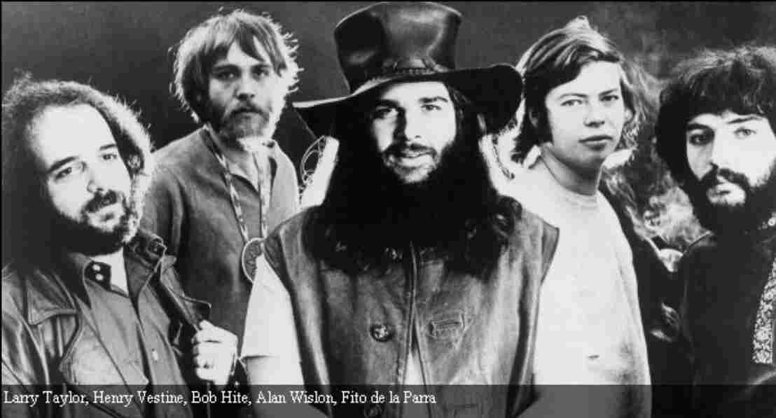 Canned heat original band photo