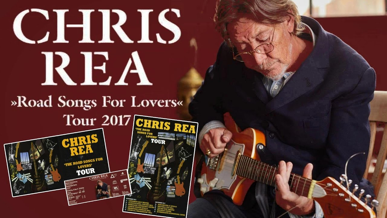 Chris rea reparti pour un tour
