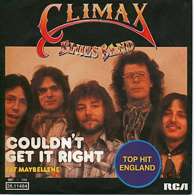 Climax blues band couldnt get it right
