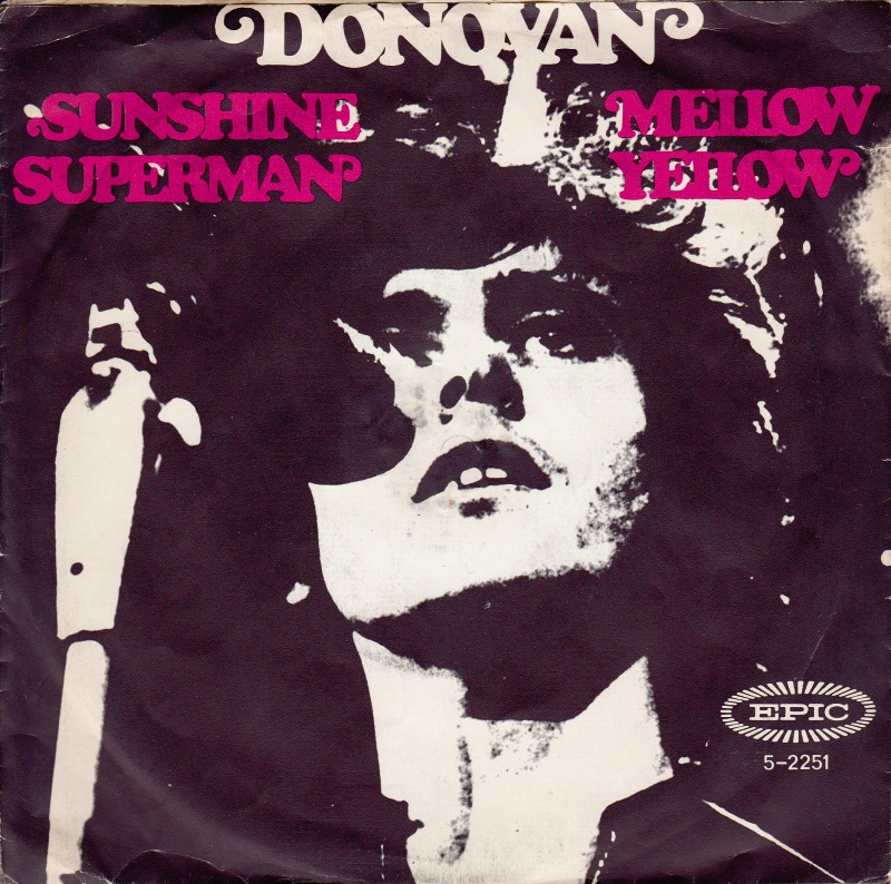 Donovan mellow yellow single cover