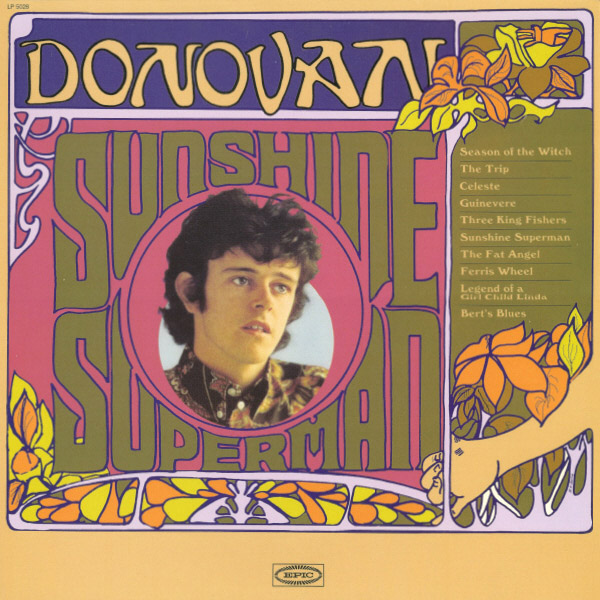 Donovan sunshine superman 1966