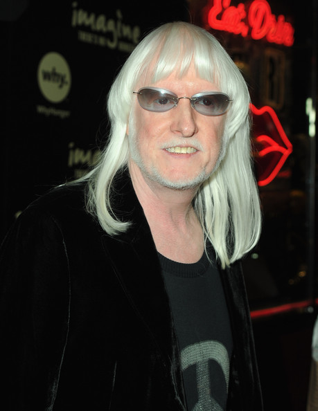 Edgar winter portrait