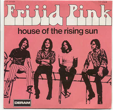 Frijid pink house of the rising sun 1970
