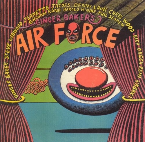 Ginger baker air force lp