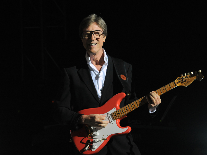 Hank marvin portrait