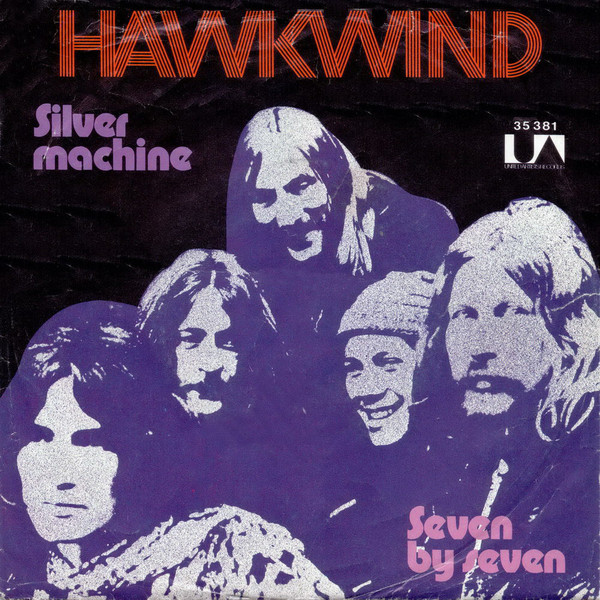 Hawkind silver machine