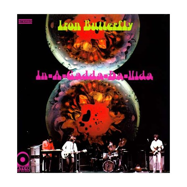 Iron butterfly in a gadda da vida 1968