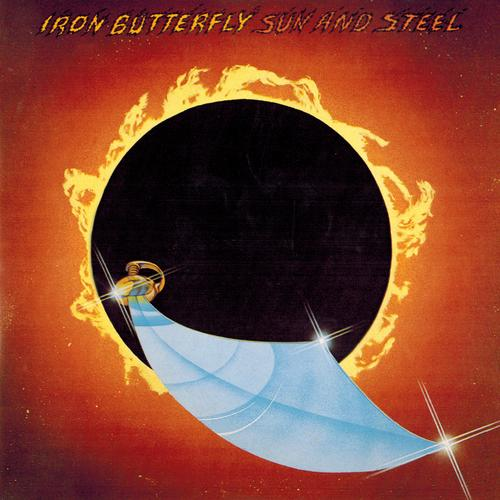 Iron butterfly sun and steel