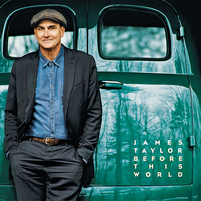 James taylor before this world 2015