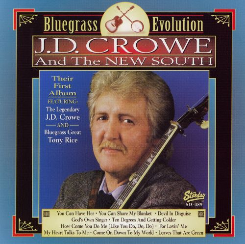 Jd crowe bluegrass evolution incontournable