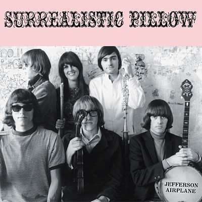 Jefferson airplane surrealistic pillow 1967
