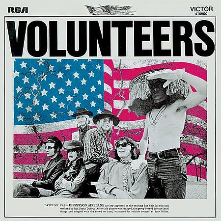 Jefferson airplane volunteers 1969