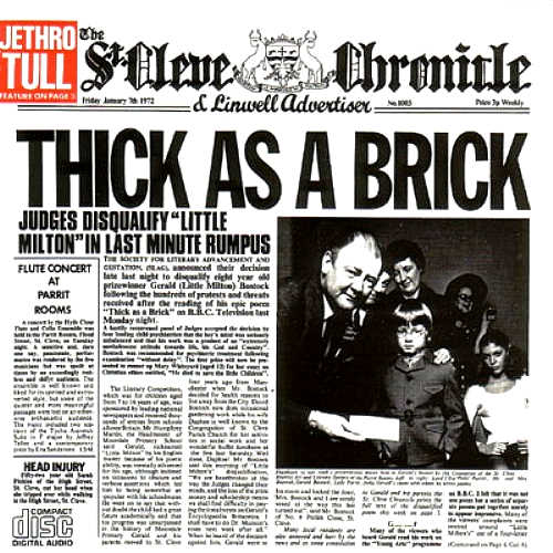 Jethro tull thick as a brick 1