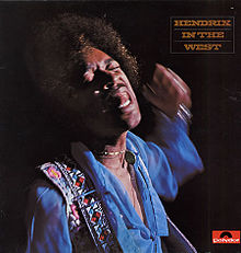 Jimi hendrix in the west