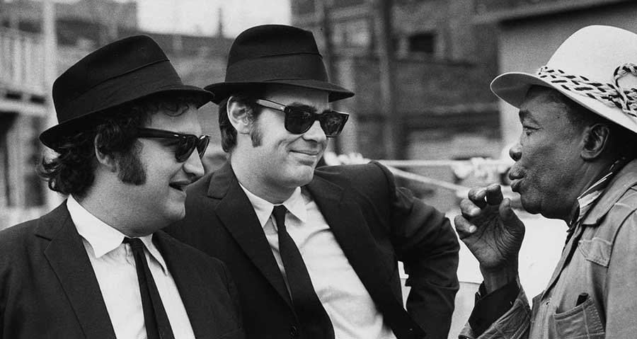John lee hooker john belushi dan aykroyd the blues brothers
