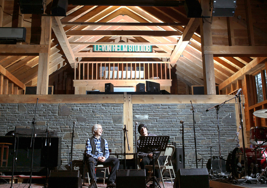 Levon helm studio woodstock inside