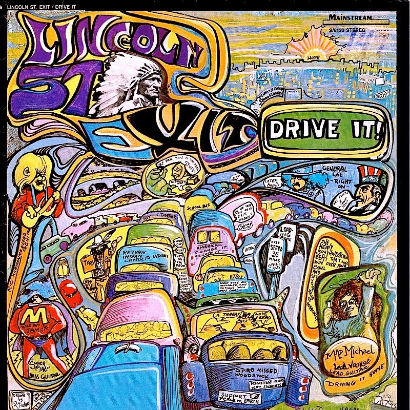 Lincoln street exit drive it 1970