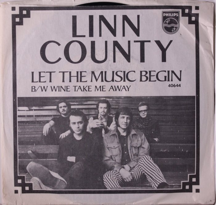 Linn county single let the music begin wine take