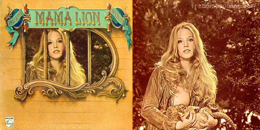 Mama lion gatefold