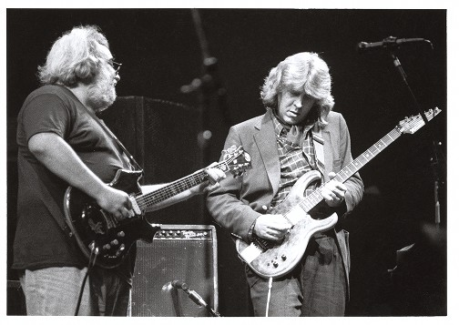 Mick taylor with grateful dead 1988
