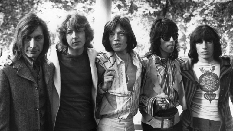 Mick taylor with stones