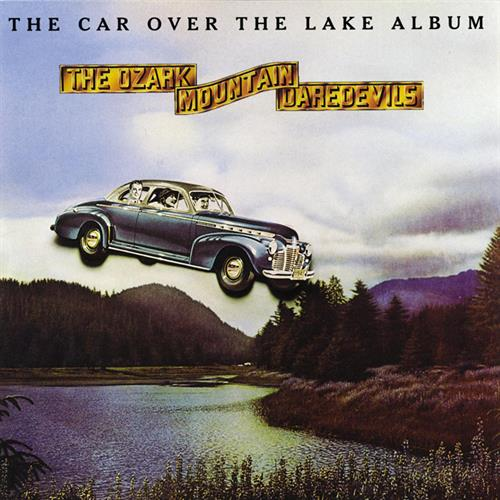 Ozark mountain the car over the lake