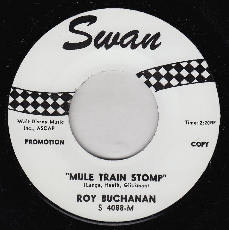 Roy buchanan mule train stomp first single