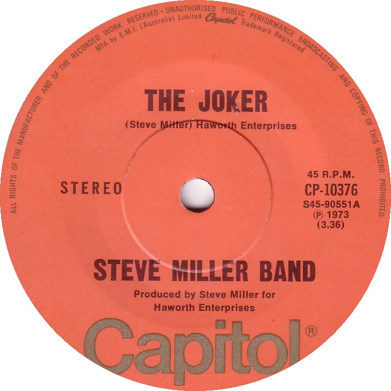 Steve miller band the joker single