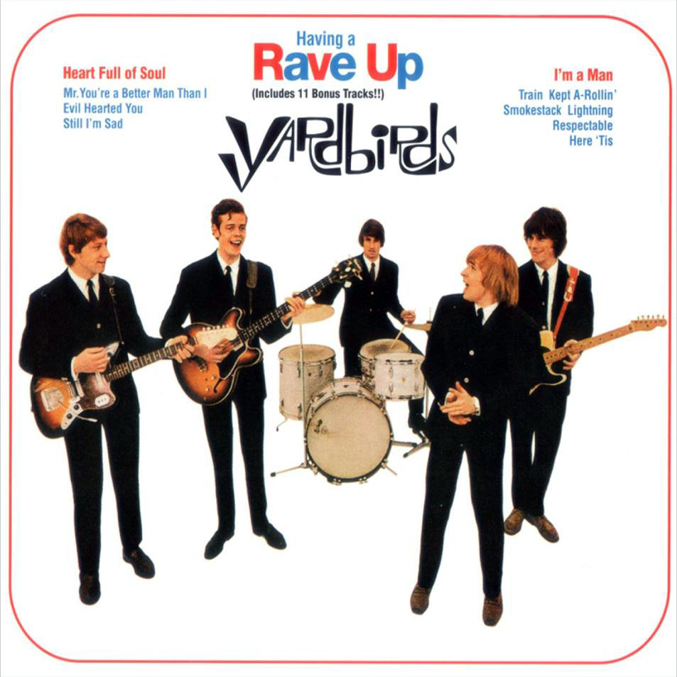 The yardbirds having a rave up 1965