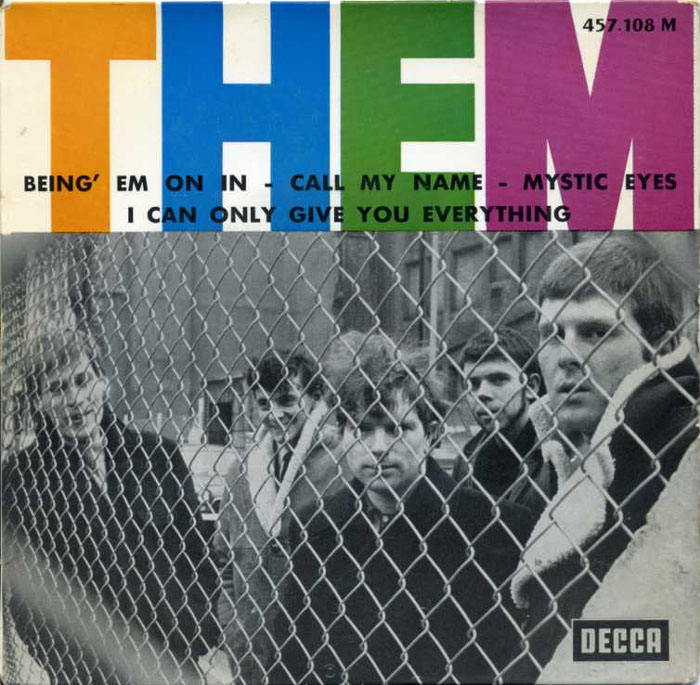 Them french ep 1965